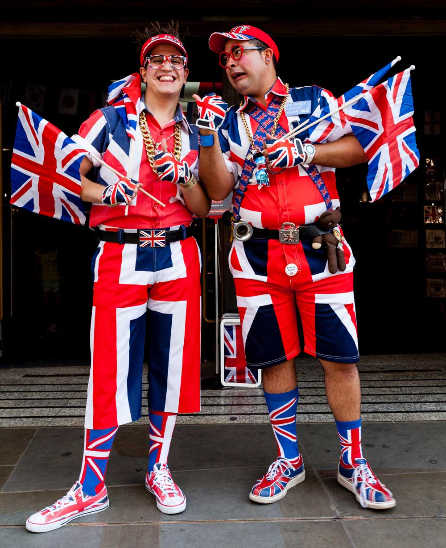 Union Jack outfits