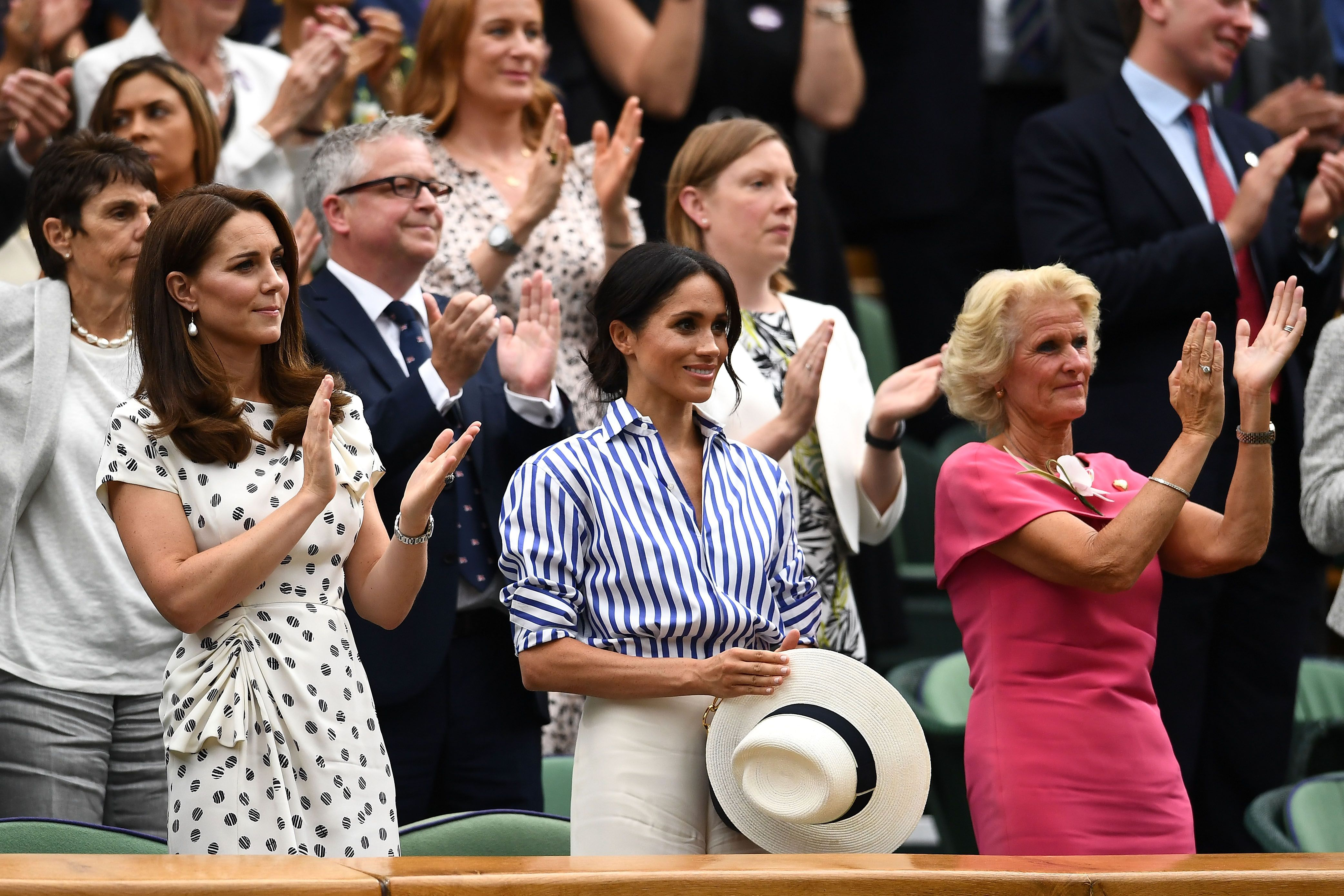 Meghan and Kate. Photo by Clive Mason / Getty Images