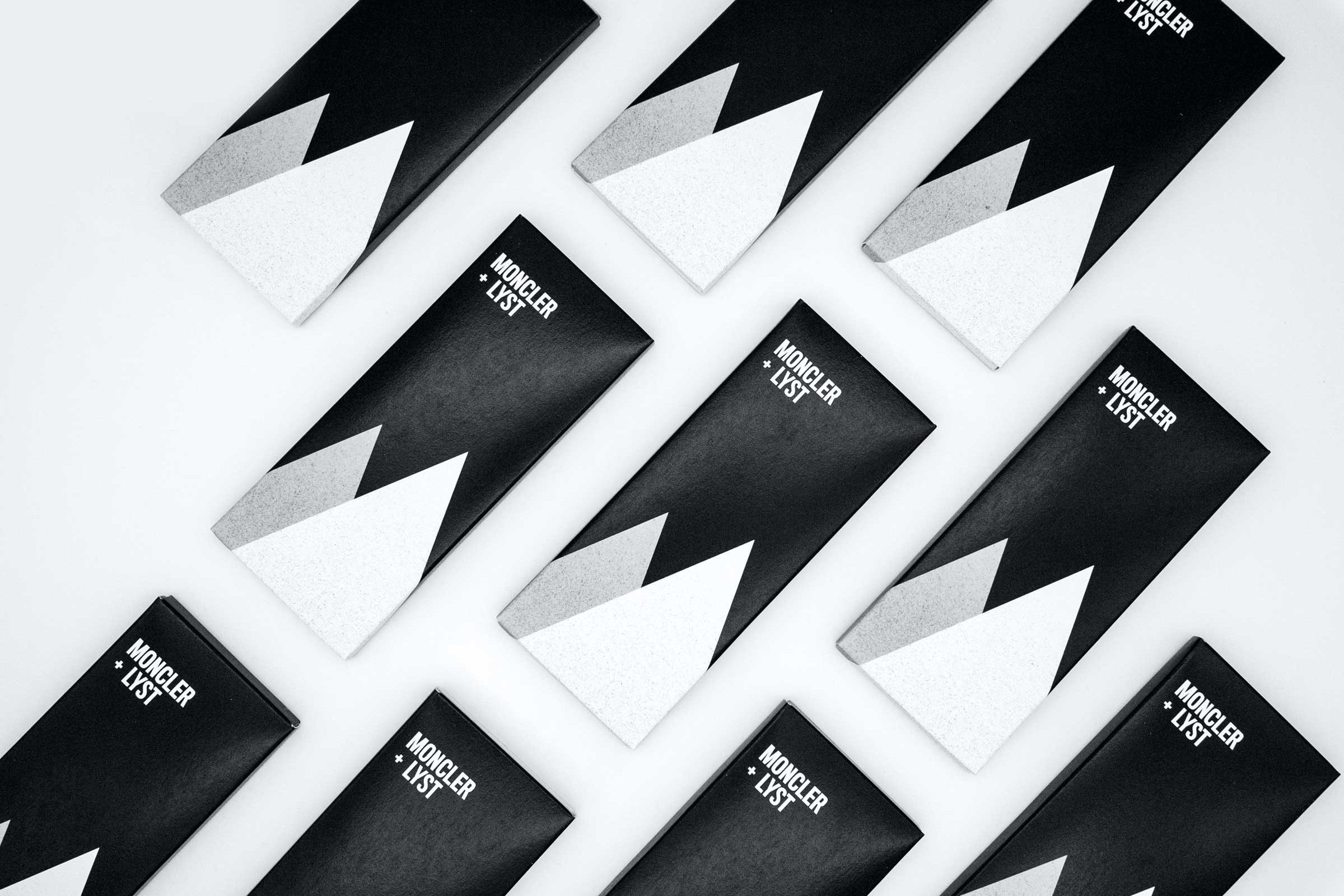 Moncler inspired chocolate bar by Lyst