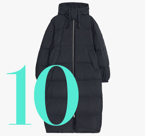 Arket down puffer coat