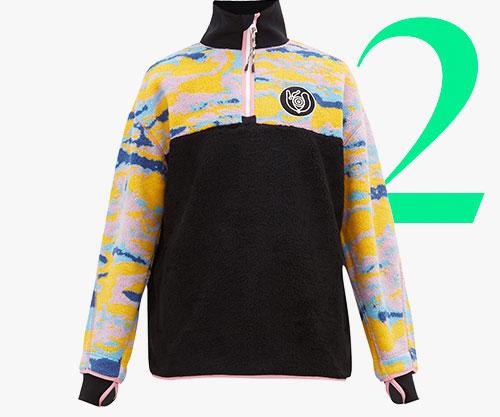 Photo: Loewe Eln fleece zip sweater
