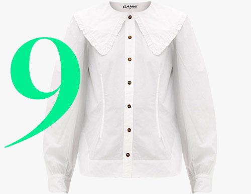Photo: Ganni cotton shirt