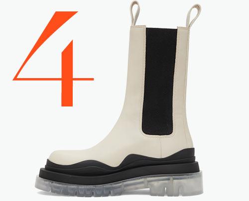 Photo: Bottega Veneta Tire boots