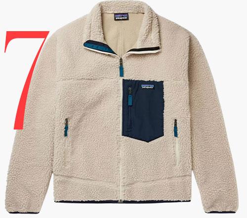 Photo: Patagonia Classic Retro-X fleece jacket