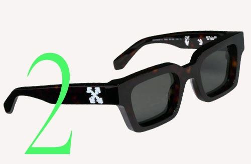 Photo: Off-White Virgil sunglasses