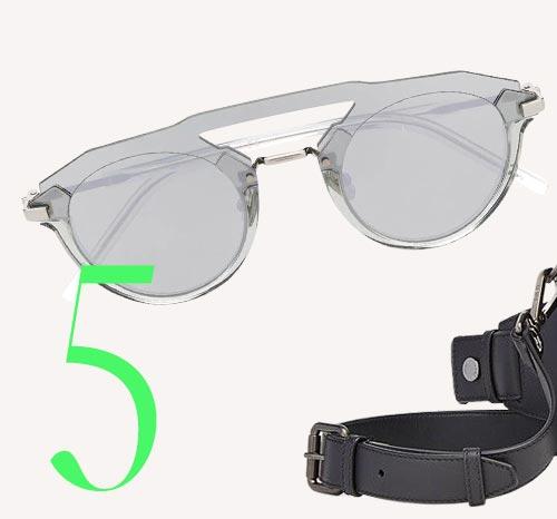 Photo: Dior Futuristic sunglasses