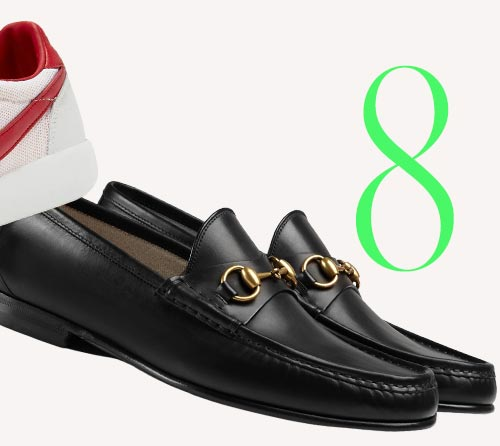 Photo: Gucci horsebit leather loafers