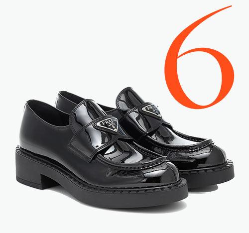 Photo: Logo Loafer von Prada