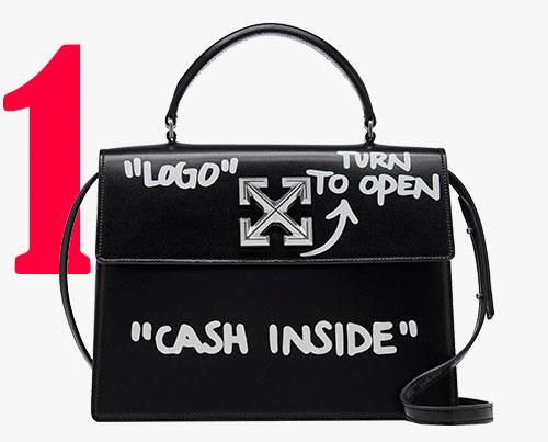 """1.4 Jitney Cash Inside""-Tasche von Off-White ℅ Virgil Abloh"