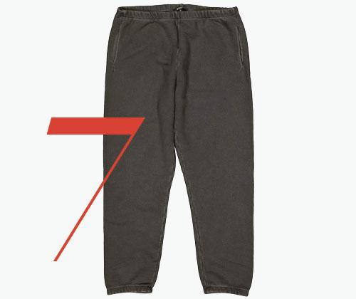 Photo: Yeezy khaki cotton trousers