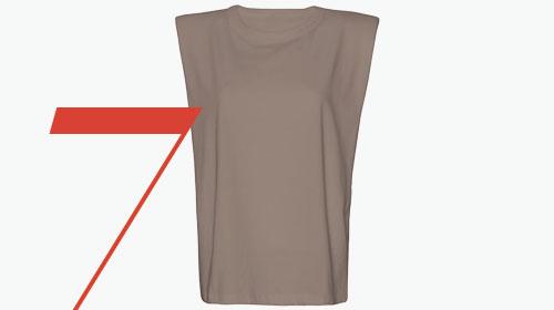 Photo: The Frankie Shop Eva sleeveless T-shirt