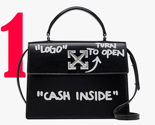 Off-White ℅ Virgil Abloh 1.4 Jitney bag