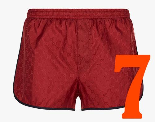 Shorts de baño Gucci GG en <em>jacquard</em>