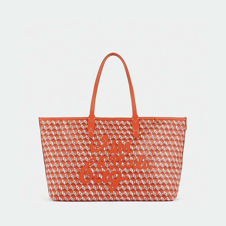 Bolsa plástico Anya Hindmarch