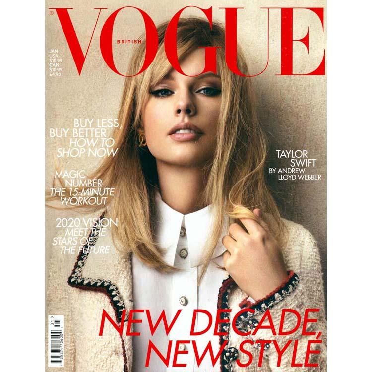 Portada Vogue Taylor Swift con Chanel vintage