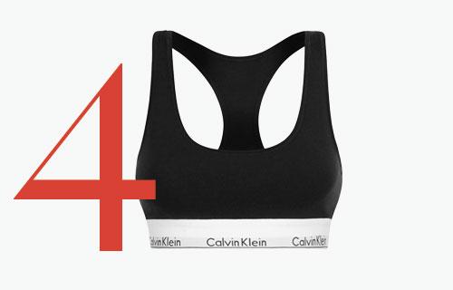 Photo: Bralette de Calvin Klein