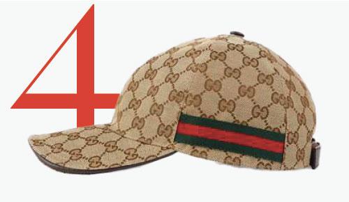 Photo: Casquette de baseball avec logo GG de Gucci