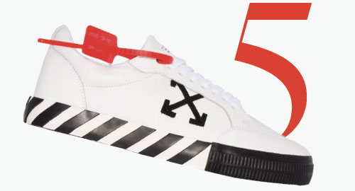Photo: Baskets basses Vulcanized d'Off-White