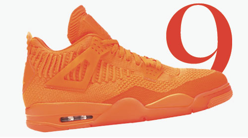 Photo: Baskets Air Jordan 4 retro flyknit de Nike