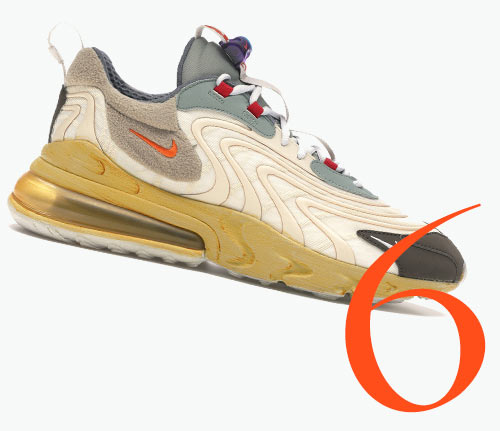 Photo: Baskets Air Max 270 Cactus Trails de Nike x Travis Scott