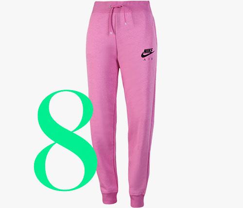 Photo: Pantaloni jogger in pile di Nike Air