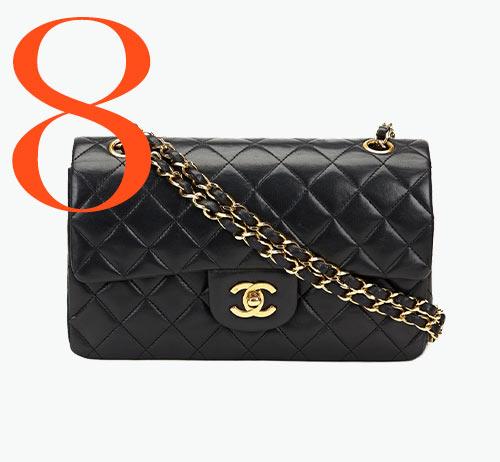 Photo: Borsa Classic Double Flap vintage di Chanel