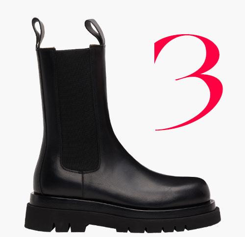 Photo: Lug boots di Bottega Veneta
