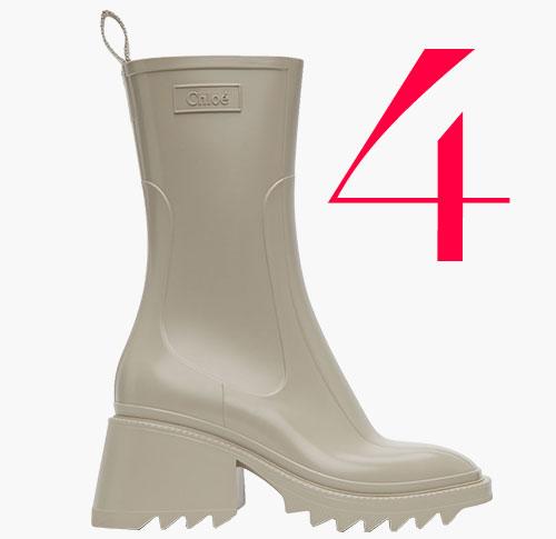 Photo: Stivali da pioggia Betty di Chloé