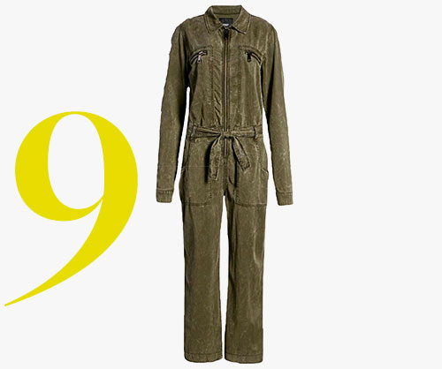 Hudson Jeans ベルト付き<br>ジャンプスーツ