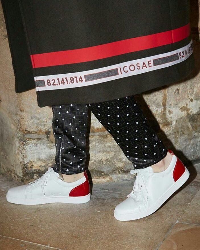 louboutin sneakers instagram
