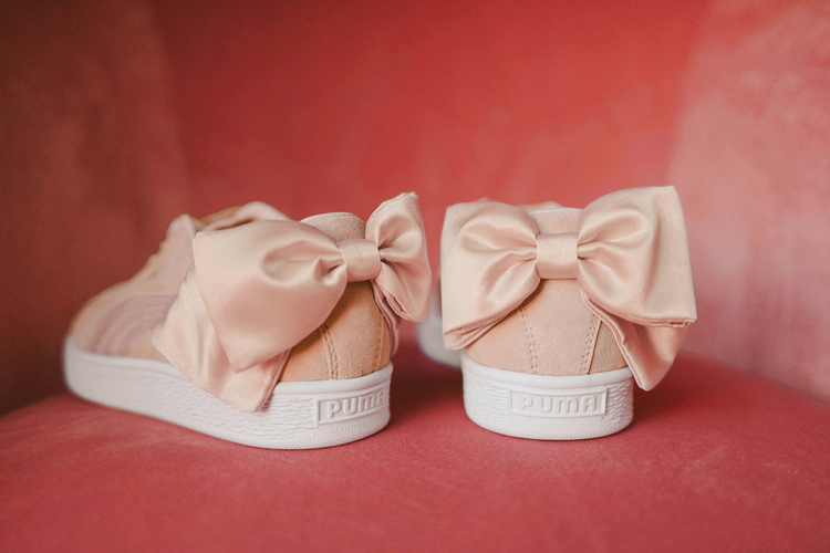 Puma Releases Suede Bow Just In Time For Valentine's Day