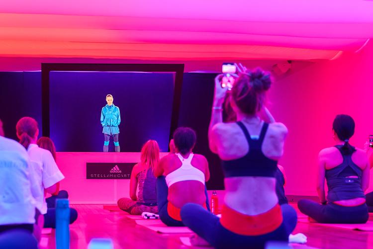 51f0803bf Adidas x Stella McCartney Hosting Hologram Workouts In NYC