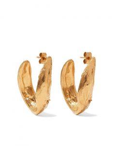 Alighieri Metallic Surreal Gold-plated Earrings
