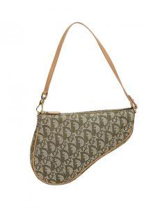 A Dior saddle bag