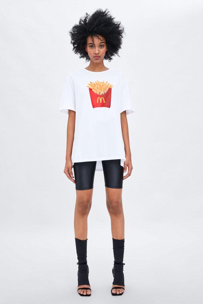 A Photo of the Zara McDonald's Tee Shirt