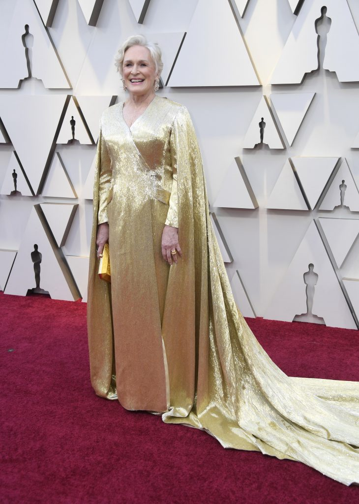 An Image of Glenn Close at the 2019 Oscars