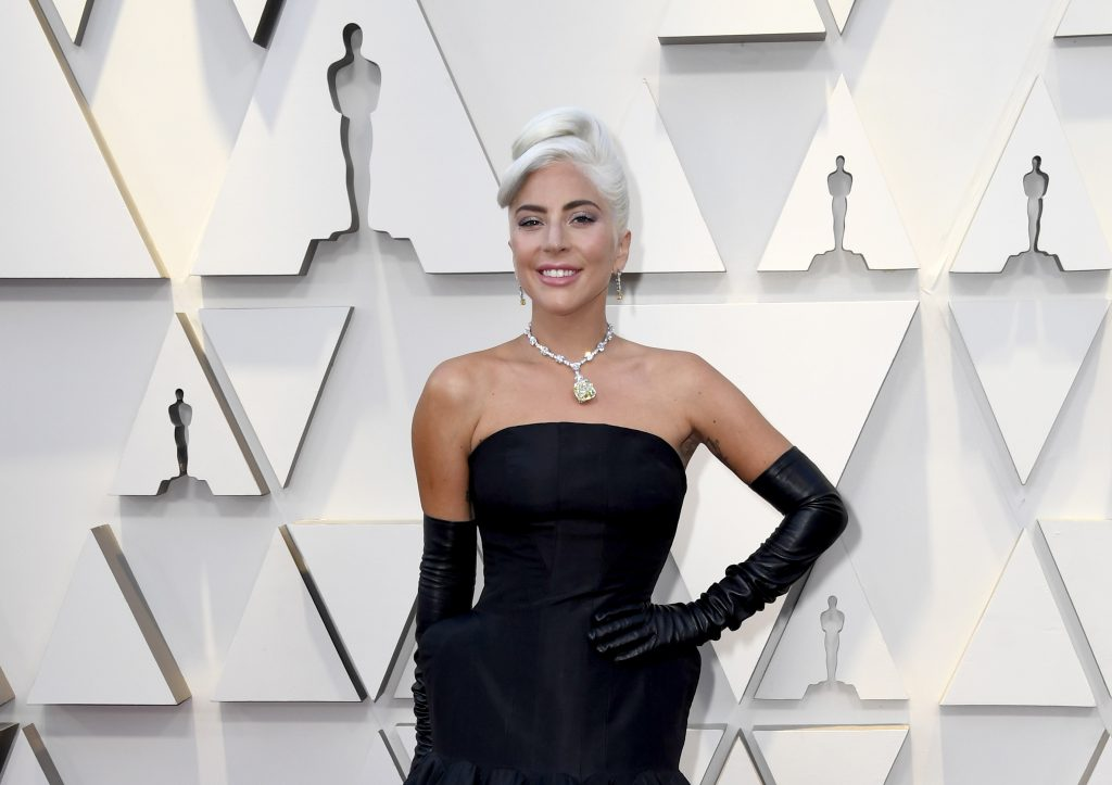 An Image of Lady Gaga at the 2019 Oscars