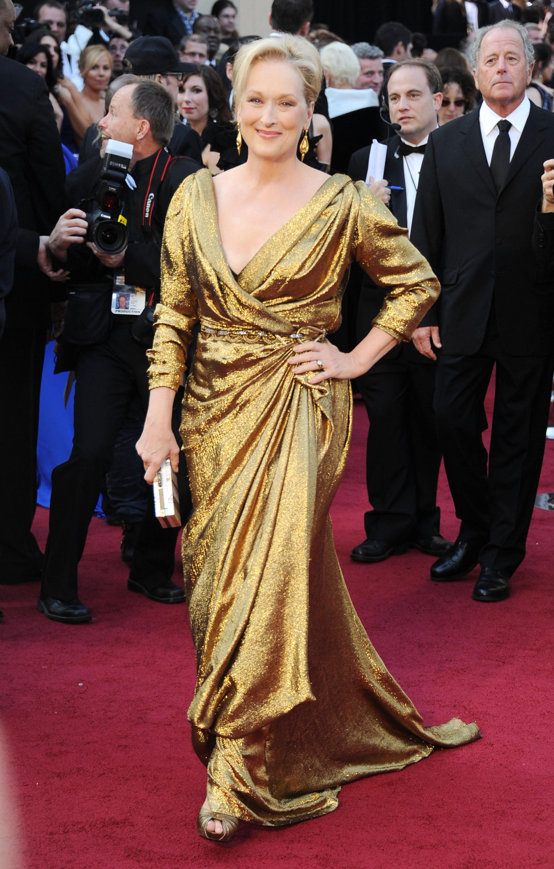 An Image of Meryl Streep at the 2012 Oscars