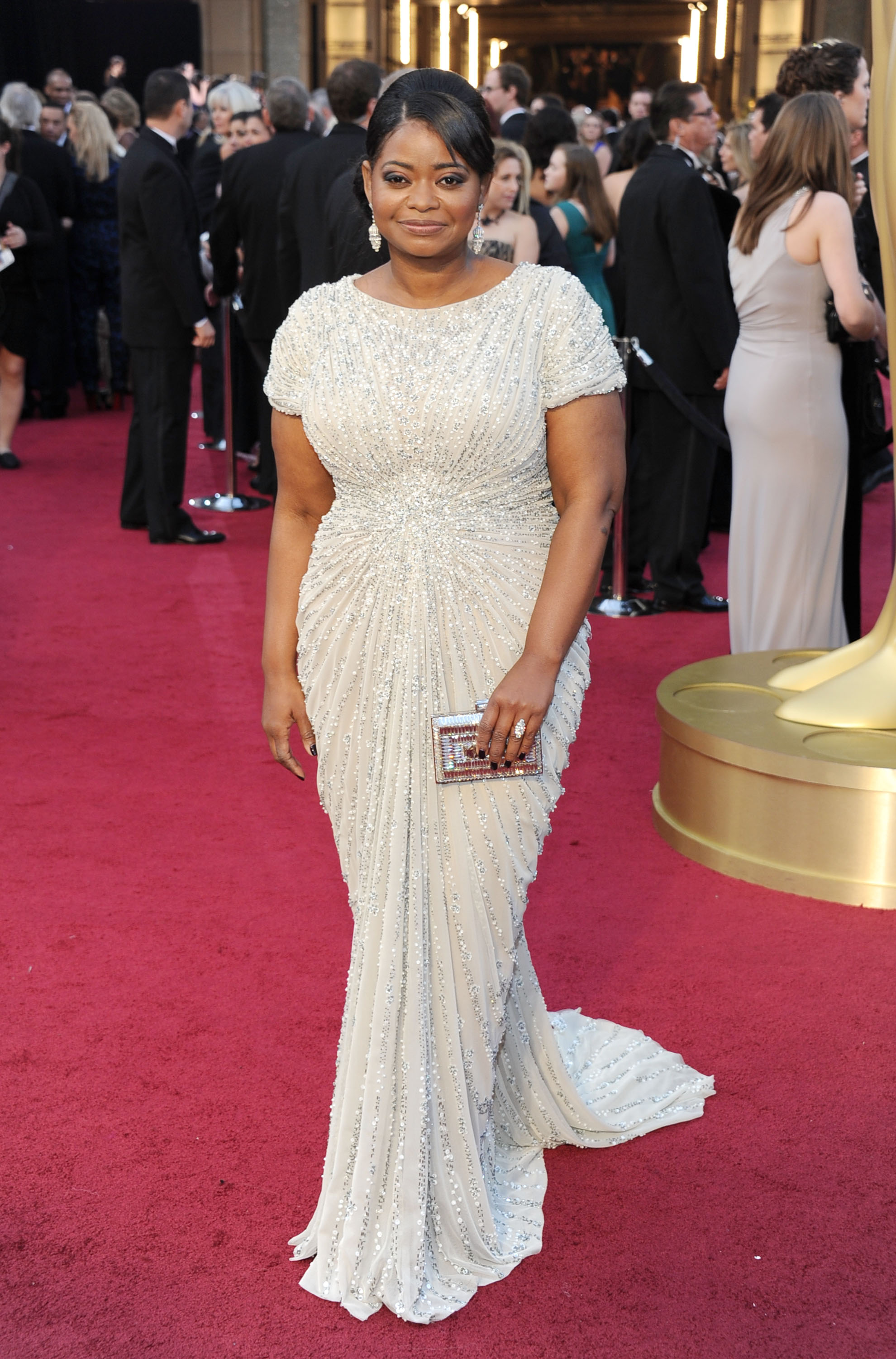 An Image of Octavia Spencer at the 2012 Oscars