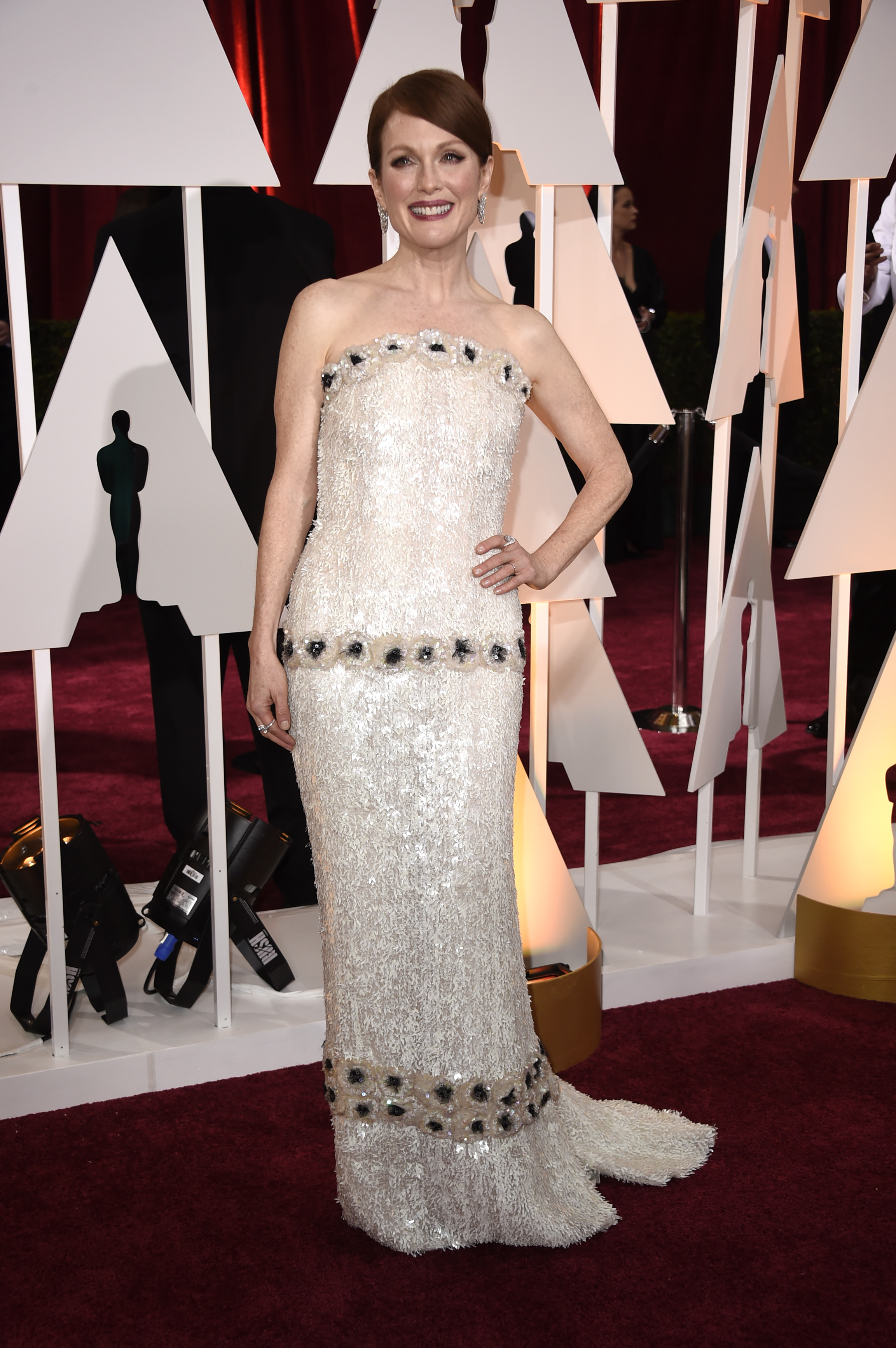 An Image of Julianne Moore at the 2015 Oscars