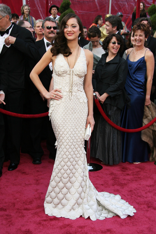 An Image of Marion Cotillard at the 2008 Oscars