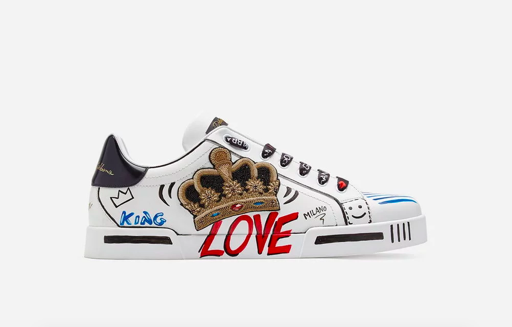 Dolce \u0026 Gabbana Limited Edition Sneakers
