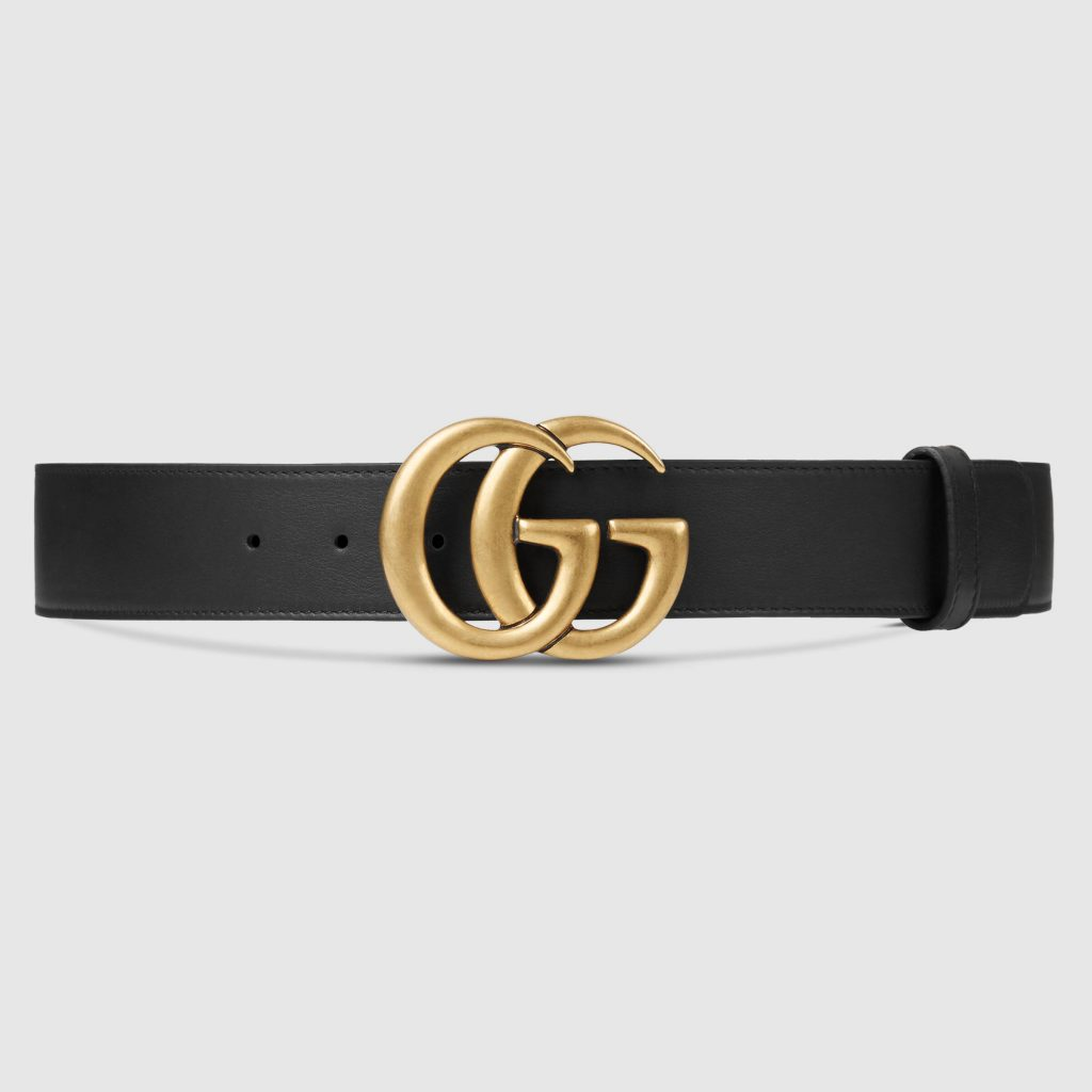 An Image of the Gucci Double G Belt
