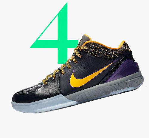 Photo: Nike Kobe 4 Protro Carpe Diem-sneakers