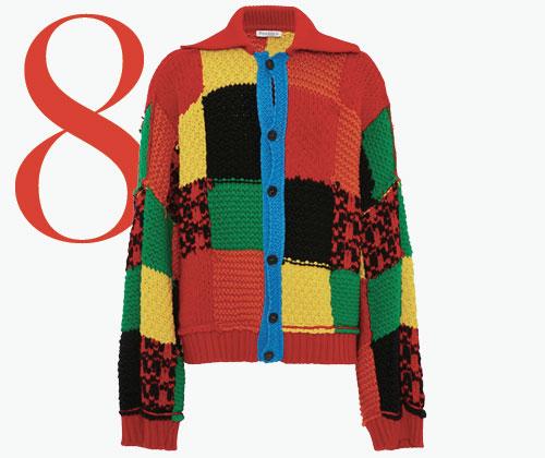 Photo: JW Anderson colour-blocked patchwork vest