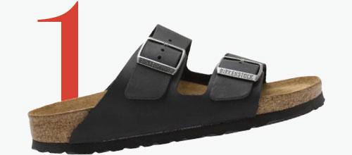 Photo: Birkenstock Arizona-sandalen met dubbele band